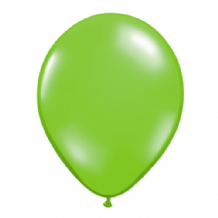 "Qualatex 11 inch Balloons - Lime Green 11"" Balloons (Jewel 100pcs)"